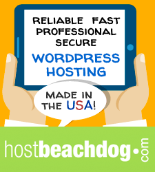hostbeachdog.com: reliable, fast, professional, secure WordPress hosting